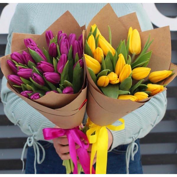 Тюльпаны 15 шт
